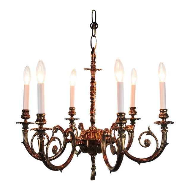 Antique Bronze Chandelier For Sale - Antique Bronze Chandelier Chairish