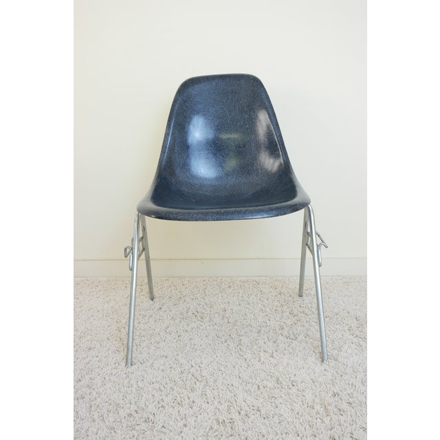 Gray 1960s Mid-Century Modern Herman Miller for Eames Shell Chair For Sale - Image 8 of 10