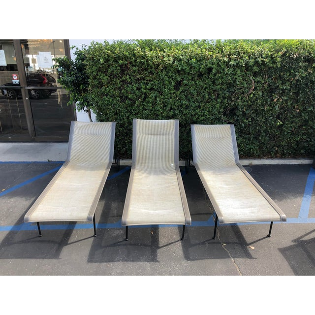 Mid-Century Modern Knoll 1966 Collection Adjustable Chaises - 3 Pieces For Sale - Image 3 of 7