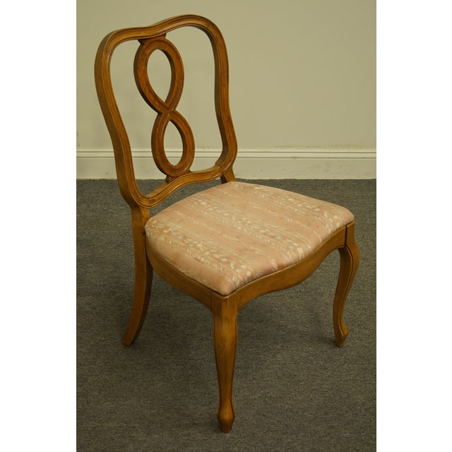 Thomasville Vintage Thomasville Furniture Tableau Collection Dining Side Chair For Sale - Image 4 of 11