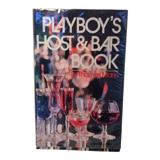 1971 Playboy's Host & Bar Book by Thomas Mario For Sale