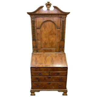 18th Century Walnut and Giltwood Secretary For Sale