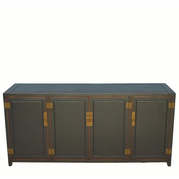 Antique Black Sideboard For Sale In Boston - Image 6 of 6