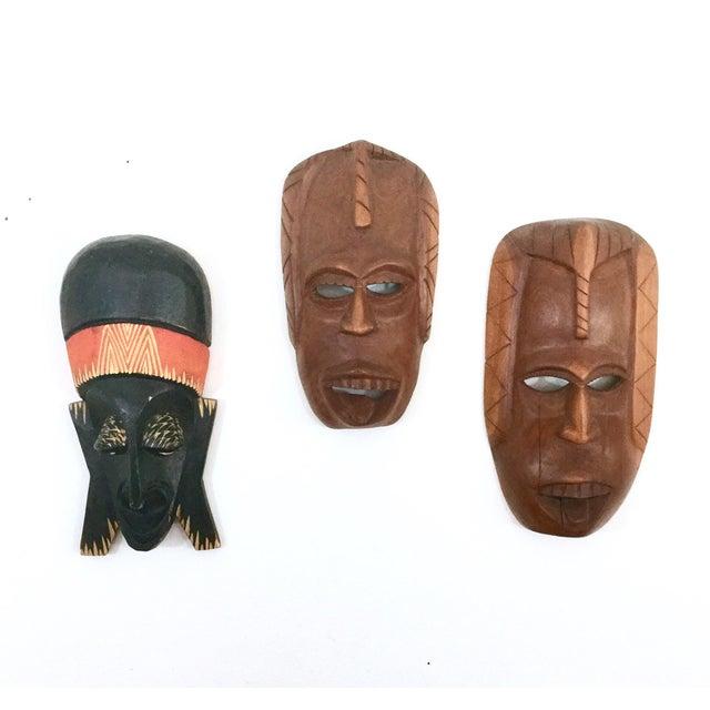 Vintage African Masks - Set of 3 - Image 2 of 9