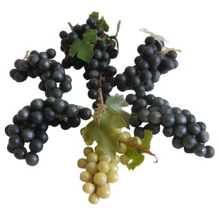 1950s Rubber Grape Clusters - Set of 6 For Sale
