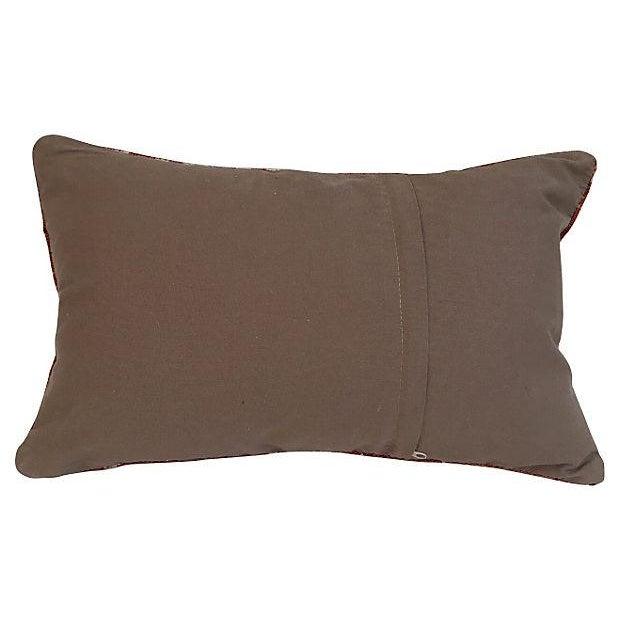 Handmade Brown Turkish Cici Pillow - Image 2 of 5