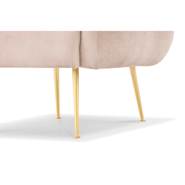 2010s Pink Taylor Accent Chair For Sale - Image 5 of 7