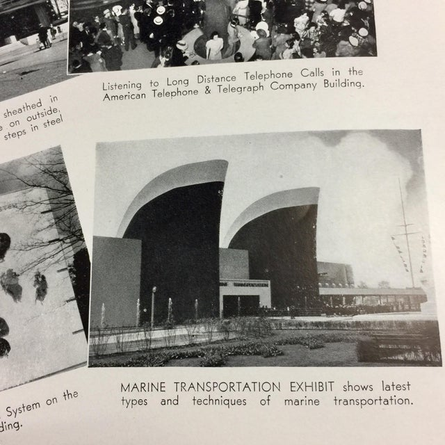 1939 New York World's Fair in Pictures Book For Sale - Image 9 of 12