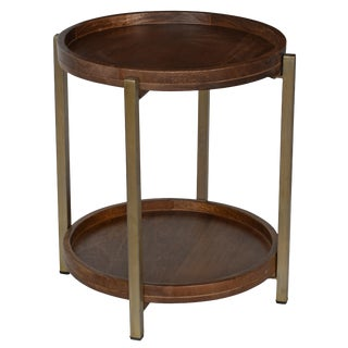 Classic Home Baxter Side Table For Sale