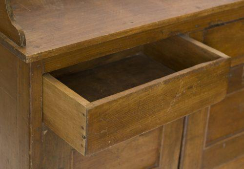 19th Century Rustic Vermont Jelly Cabinet   Image 3 Of 8