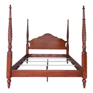 Ethan Allen British Classics King Size Poster Bed