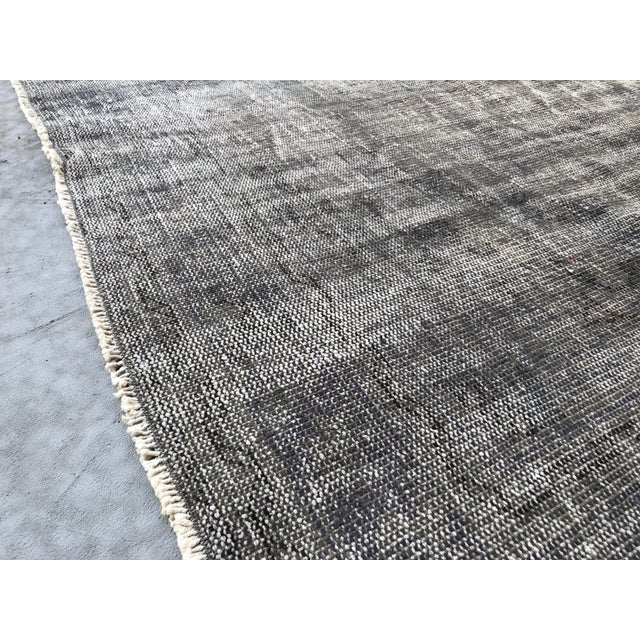 Vintage Anatolian Distressed Rug For Sale - Image 9 of 10