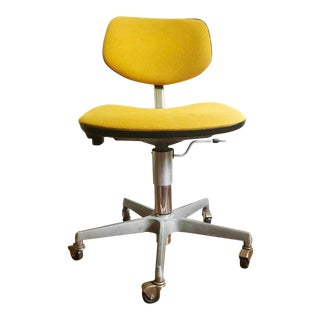 Vintage Retro Rolling Desk Chair From Madison Furniture For Sale