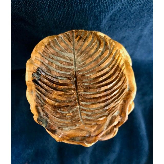 Hand Carved Olive Wood Sculpture - Image 8 of 9