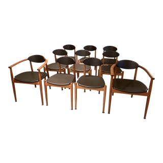 Modern Moser Ellipse Chairs - Set of 10 For Sale