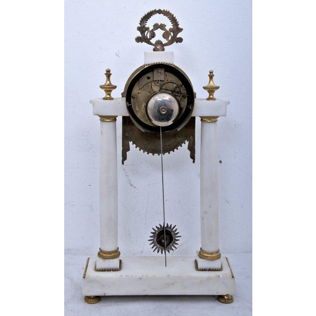 19th Century French Mantel Clock For Sale - Image 4 of 11