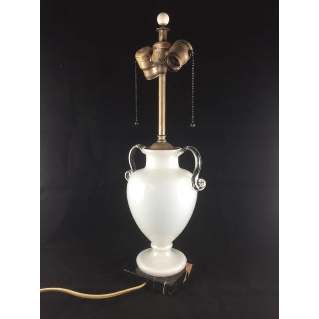 Bohemian Kralik Amphora Urn Table Lamp - Image 4 of 11