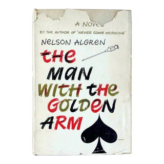 "1949 ""The Man with the Golden Arm"" Collectible Book For Sale"
