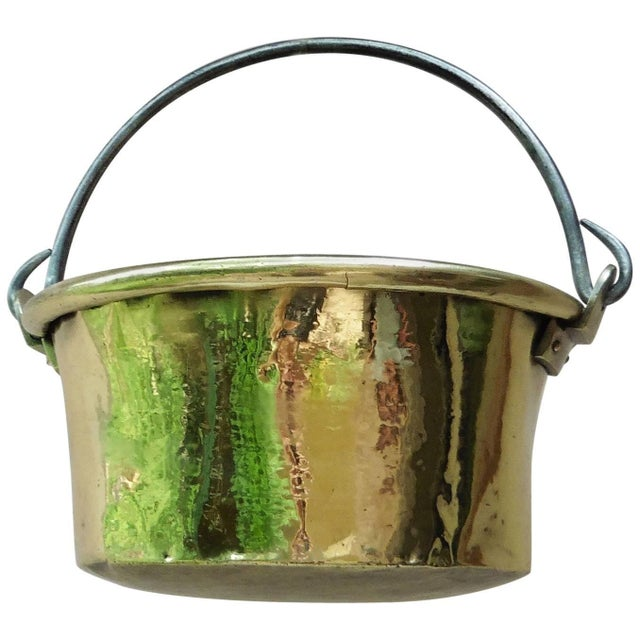 Early 19th Century French Yellow Copper Cauldron For Sale In Austin - Image 6 of 6