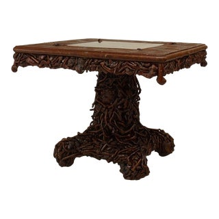 19th Century Adirondack Game Table For Sale
