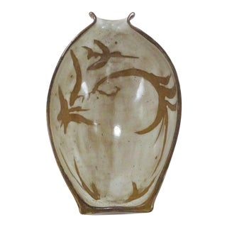 1960's Boho Chic Wall Mounted Vase Sculpture For Sale