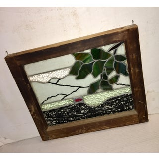 Early 20th Century Antique Upstate New York Leaded Stained Glass Window Preview