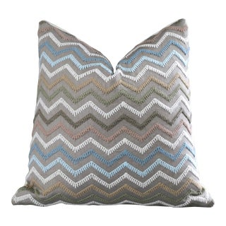 Osborne & Little Taggia Pillow Cover 18x18 For Sale