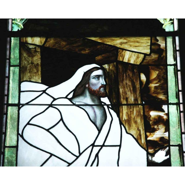 """The Resurrection"" Stained Glass Window For Sale - Image 4 of 6"