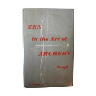 Zen in the Art of Archery Book by Eugen Herrigel