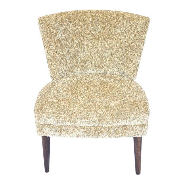 Original Hollywood Regency Kroehler Slipper Chair For Sale