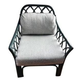 Vintage Lane Venture Rattan Chair For Sale