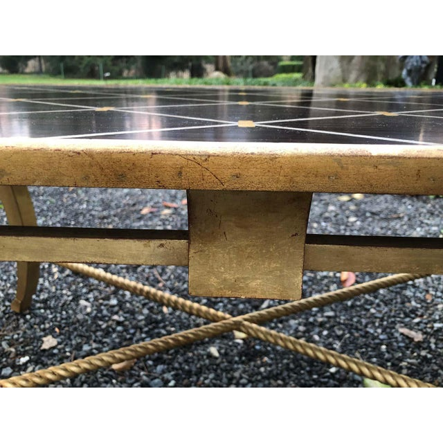 Wood Amy Howard Inlaid Wood Coffee Table For Sale - Image 7 of 12