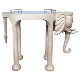 Elephant Rolling Bar Cart For Sale