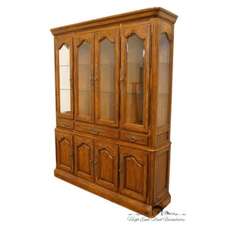 Late 20th Century Vintage Drexel Heritage French Country Style China Cabinet Preview