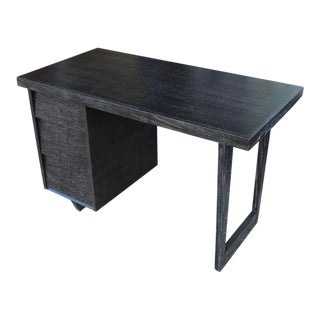 Morris of California Architectural Oak Desk