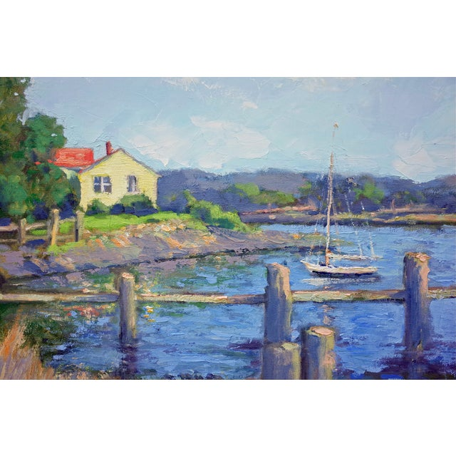 Quiet Inlet Painting - Image 3 of 5