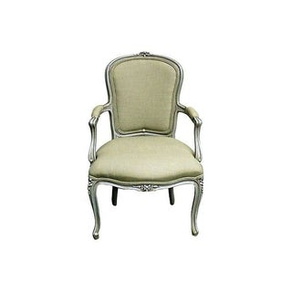 Vintage French Louis XV Style Armchair For Sale