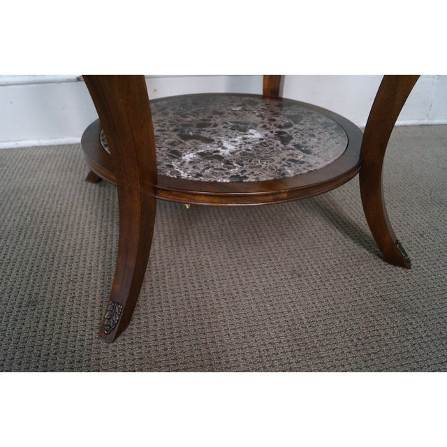 Drexel Heritage Mahogany Regency Center Table - Image 6 of 10