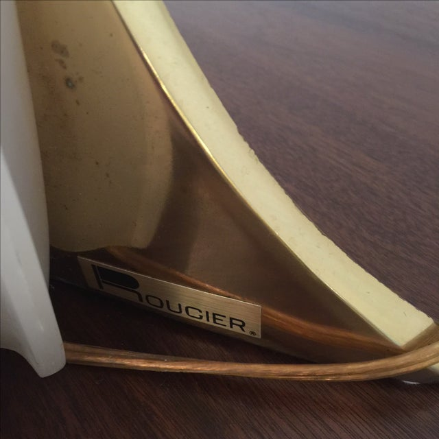 Rougier Brass & Acrylic Table Lamp - Image 6 of 10