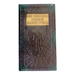 Art Deco One Hundred and One Famous Poems Book For Sale