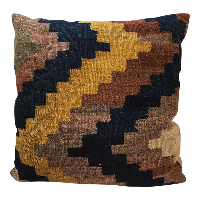 Vintage Kilim Rug Pillow - Image 1 of 5