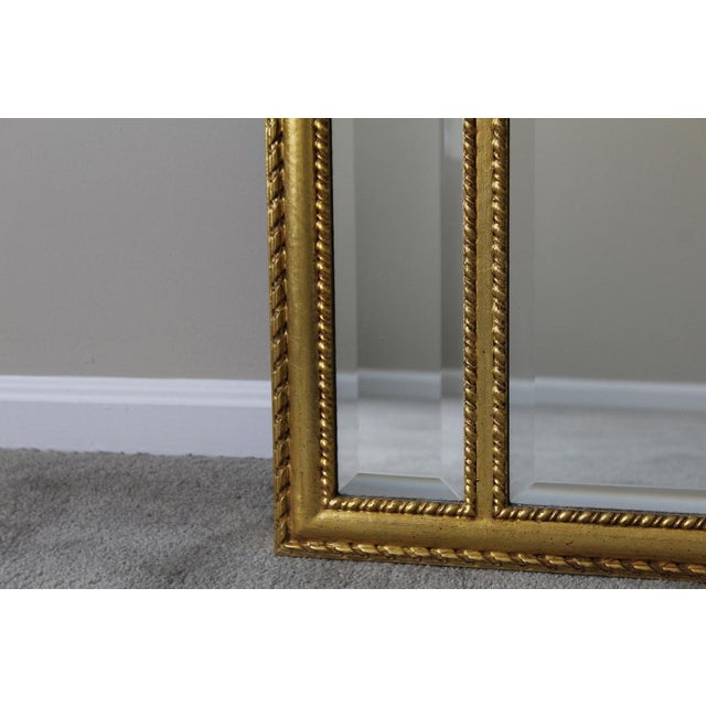 Labarge 1980s Neoclassical LaBarge Ornate Style Mirror For Sale - Image 4 of 11