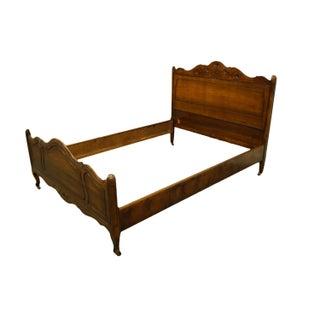 Late 20th Century Sligh Furniture French Provincial Full Size Bed Frame Preview