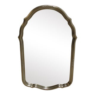 Vintage French Regency Labarge Gold Hanging Wall Mirror For Sale