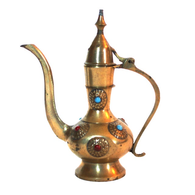 Vintage Middle Eastern Tea Set - Image 3 of 5