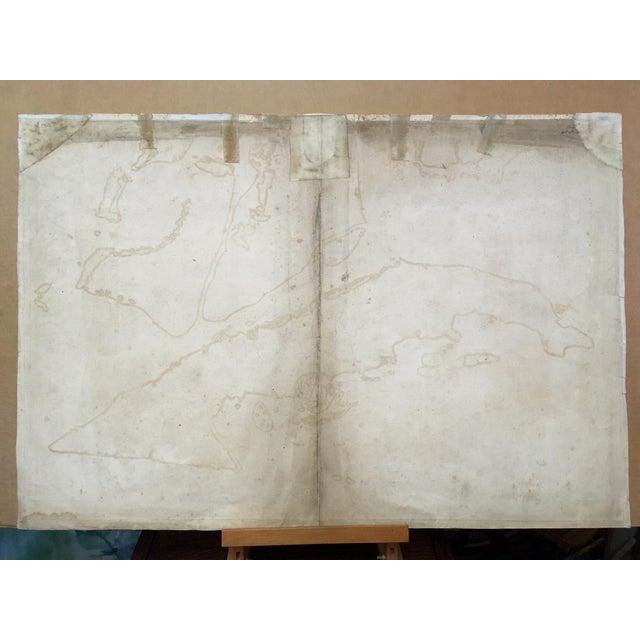 1762 Depot Des Cartes Carte Reduite De l'Isle De Cube Map of Cuba Hydrographical For Sale - Image 12 of 13