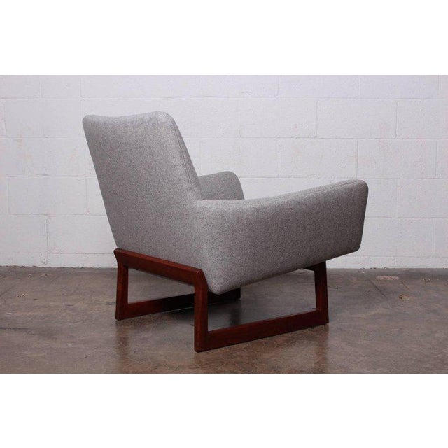 Pair of Lounge Chairs by Jens Risom For Sale - Image 10 of 13