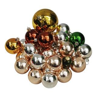 Vintage Christmas Ornaments - Set of 32 For Sale