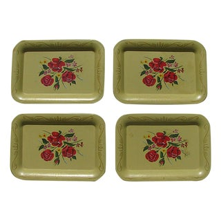 Mid-Century Tapas Trays, Set of 4 For Sale