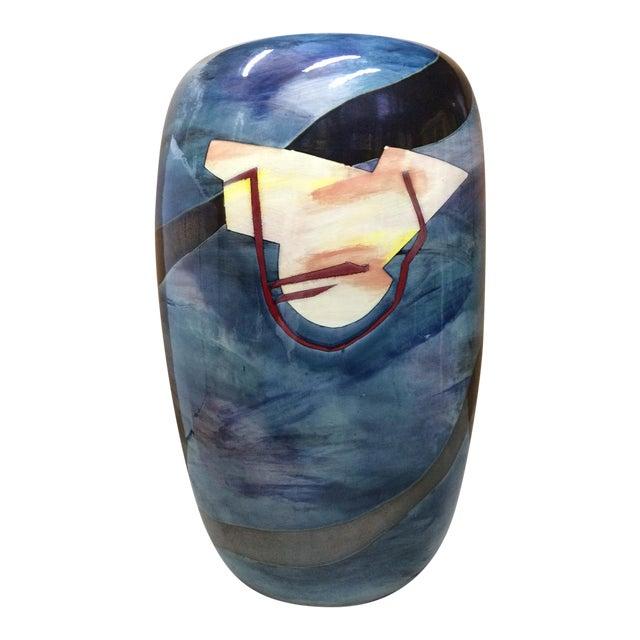 Contemporary Southwest Vessel/Vase For Sale